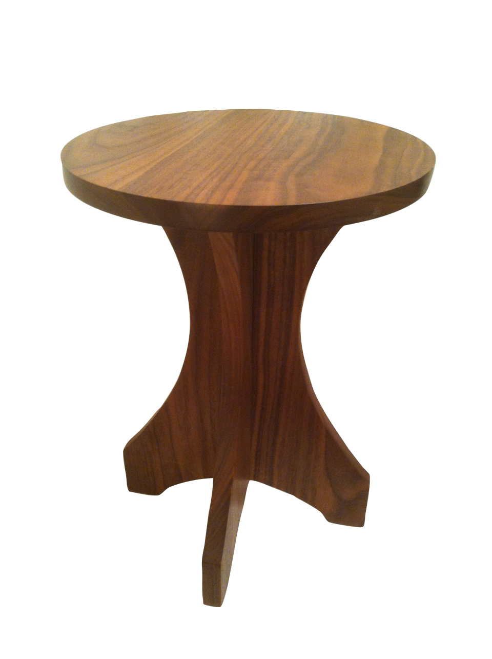 Walnut dining table - Walnut Side Table Johnson Woodworks